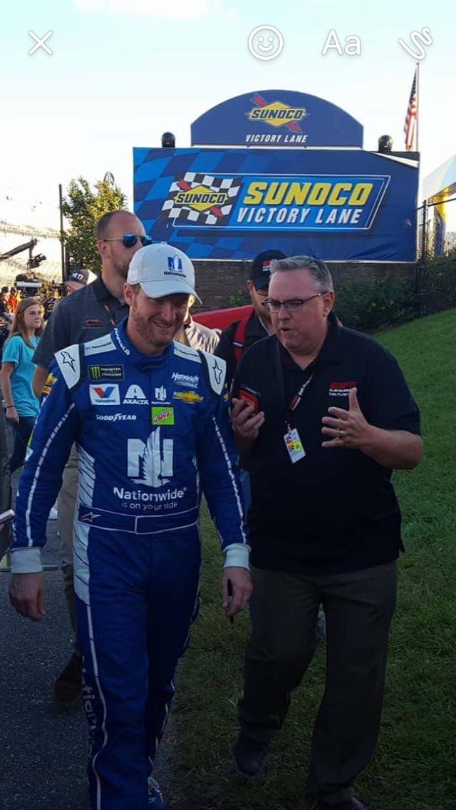 Interviewing Dale Jr Dover